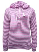 EX LAZY JACKS PINK STRIPED BUTTON HOODIE JUMPER NEW SIZES 8-18